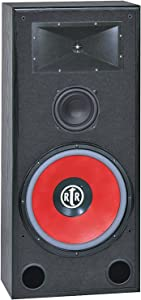 BIC AMERICA RTR-EV15 15-Inch 3-Way Eviction Series Bi-Ampable Floor Speaker with High-Efficiency Horn Tweeter