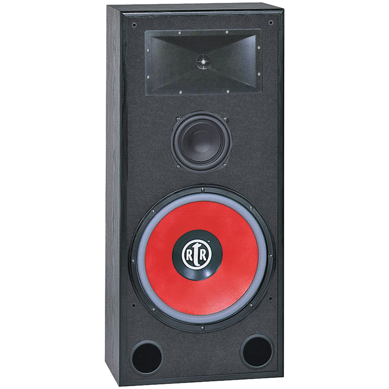 BIC AMERICA RTR-EV15 15-Inch 3-Way Eviction Series Bi-Ampable Floor Speaker with High-Efficiency Horn Tweeter by BIC