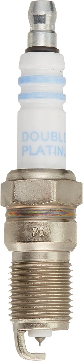 Up to 3X Longer Life Bosch 8103 Double Platinum Spark Plug Pack of 4