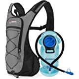 MIRACOL Hydration Backpack with 2L BPA-Free Bladder Lightweight Hydration Pack for Running Hiking Climbing Biking Cycling Ski
