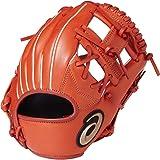 アシックス(asics) 野球 ジュニア 軟式 オールラウンド用 グローブ ダイブ 右投げ 特小サイズ 2018年モデル BGJ8BK Rオレンジ LH