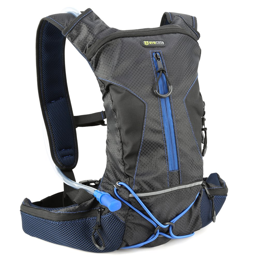 Amazon.com : Hydration Backpack Evecase Daypack with 2 Liter Water ...