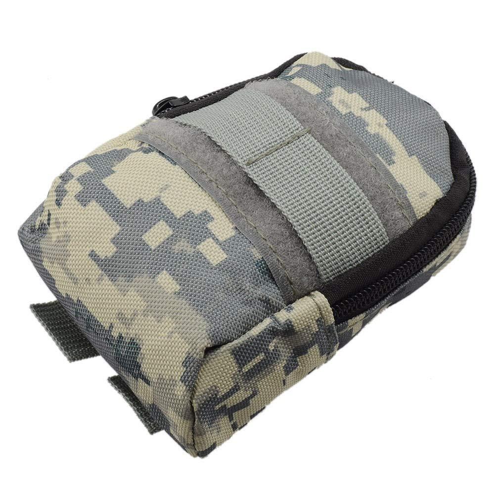 Richliruib - Bolsa de Cintura táctica Militar para Exteriores, Bolsa Impermeable, Camouflage
