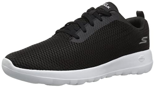 Skechers Performance Womens Go Joy 15601 Walking Shoe,black/white,13 ...