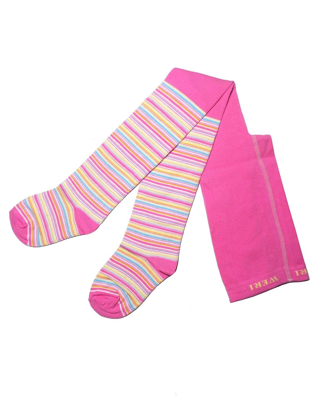 Weri Spezials Collant per bambini con bordi colorati