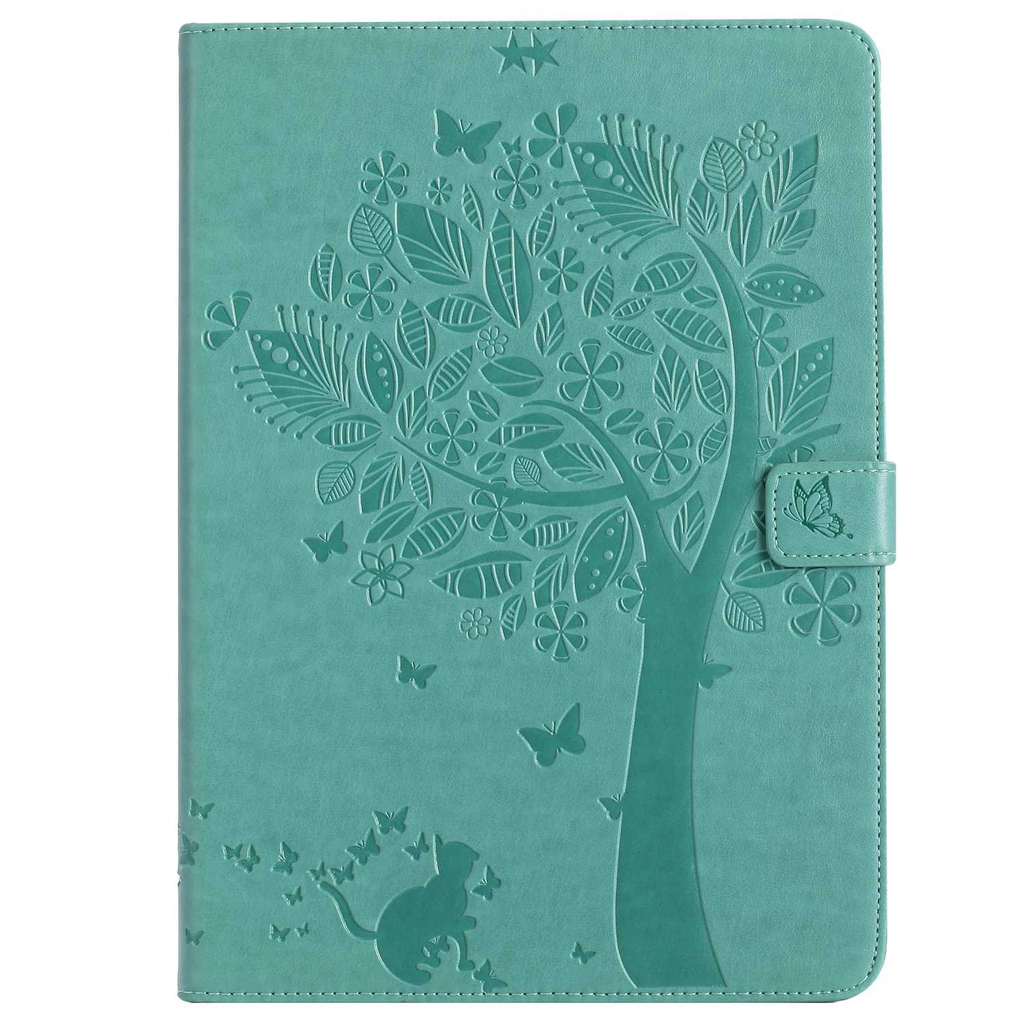 Bear Village iPad Pro 9.7 Inch Case, Leather Magnetic Case, Fullbody Protective Cover with Stand Function for Apple iPad Pro 9.7 Inch, Green by Bear Village