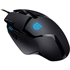 Logitech G402  Corded, Hyperion Fury  Optical Gaming Mouse Gaming Mice
