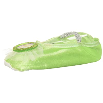 Disney Tinker Bell Girls' Ballet Slippers, One Size: Toys & Games