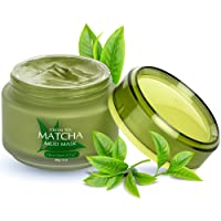 Green Tea Matcha Facial Mud Mask, Removes Blackheads, Reduces Wrinkles, Nourishing...