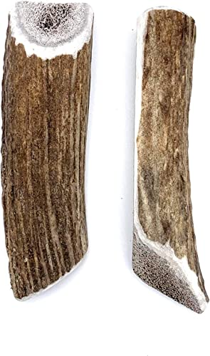 Perfect Pet Chews Split Elk Antler Dog Chew – Grade A, All Natural, Organic, and Long Lasting Treats – Made from Naturally Shed Antlers in The USA