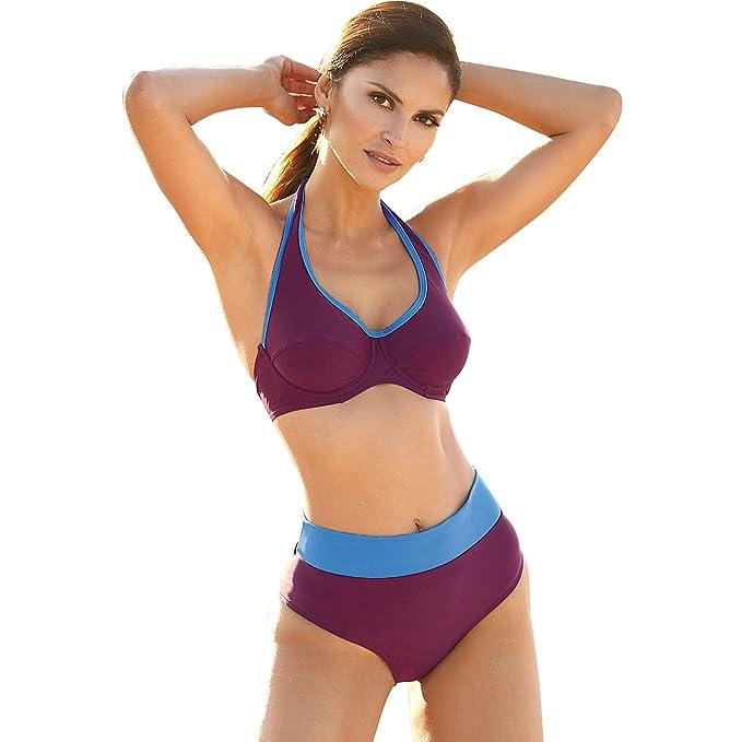 VENCA Bikini Sujetador de Copas con Aros y Tirante Halter a la Nuca Mujer by - 014800: Amazon.es: Ropa y accesorios