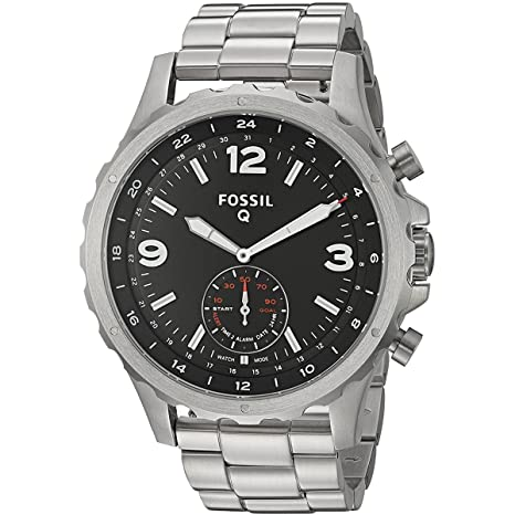 6e9bf1794cd Smartwatch Fossil Q Híbrido Nate Masculino - Ftw1123 1ki  Amazon.com ...