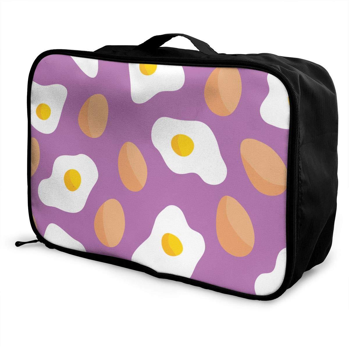 Travel Luggage Duffle Bag Lightweight Portable Handbag Egg Large Capacity Waterproof Foldable Storage Tote