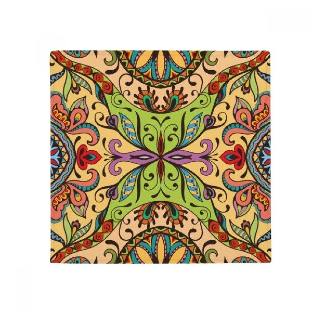 DIYthinker European Style Pattern Flowers Leaves Lines Anti-Slip Floor Pet Mat Square Home Kitchen Door 80Cm Gift