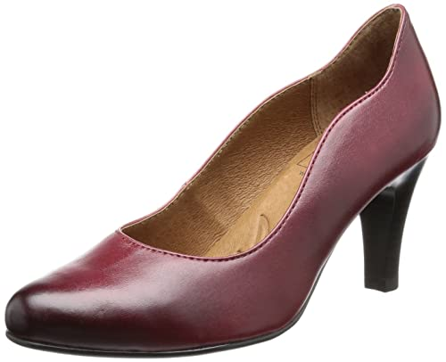 Pumps Rotred Henny Red Caprice 1 9 21 Antic Womens 22400 018 xWQrCBode