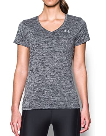 bc17f683db91 Under Armour Women's Tech V-Neck Twist Short Sleeve T-Shirt