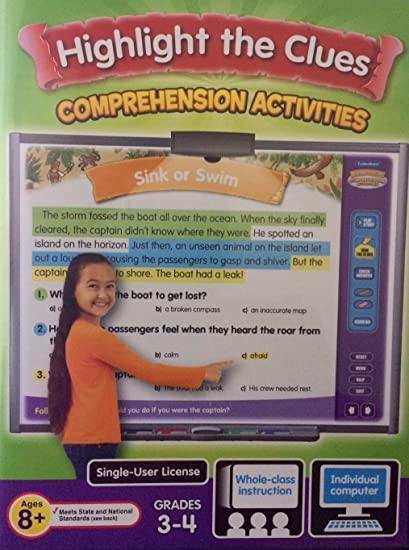 Amazon com: Highlight the Clues Comprehension Activities
