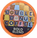 Double Donut Bold Blend Coffee, in Recyclable Single Serve Cups for Keurig K-Cup Brewers, 12 Count