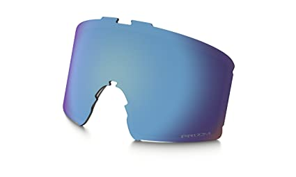 b370c2253b2 Image Unavailable. Image not available for. Color  Oakley Line Miner Snow Goggle  Replacement Lens Prizm Sapphire Iridium