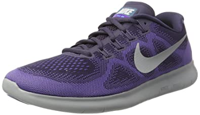 915768cab6849 Image Unavailable. Image not available for. Color  Nike Free RN 2017 Dark  Raisin Pure Platinum Purple Earth Women s Running Shoes (
