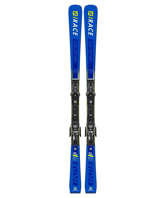 SALOMON Skier SRace Rush SL + X12 TL: : Sport