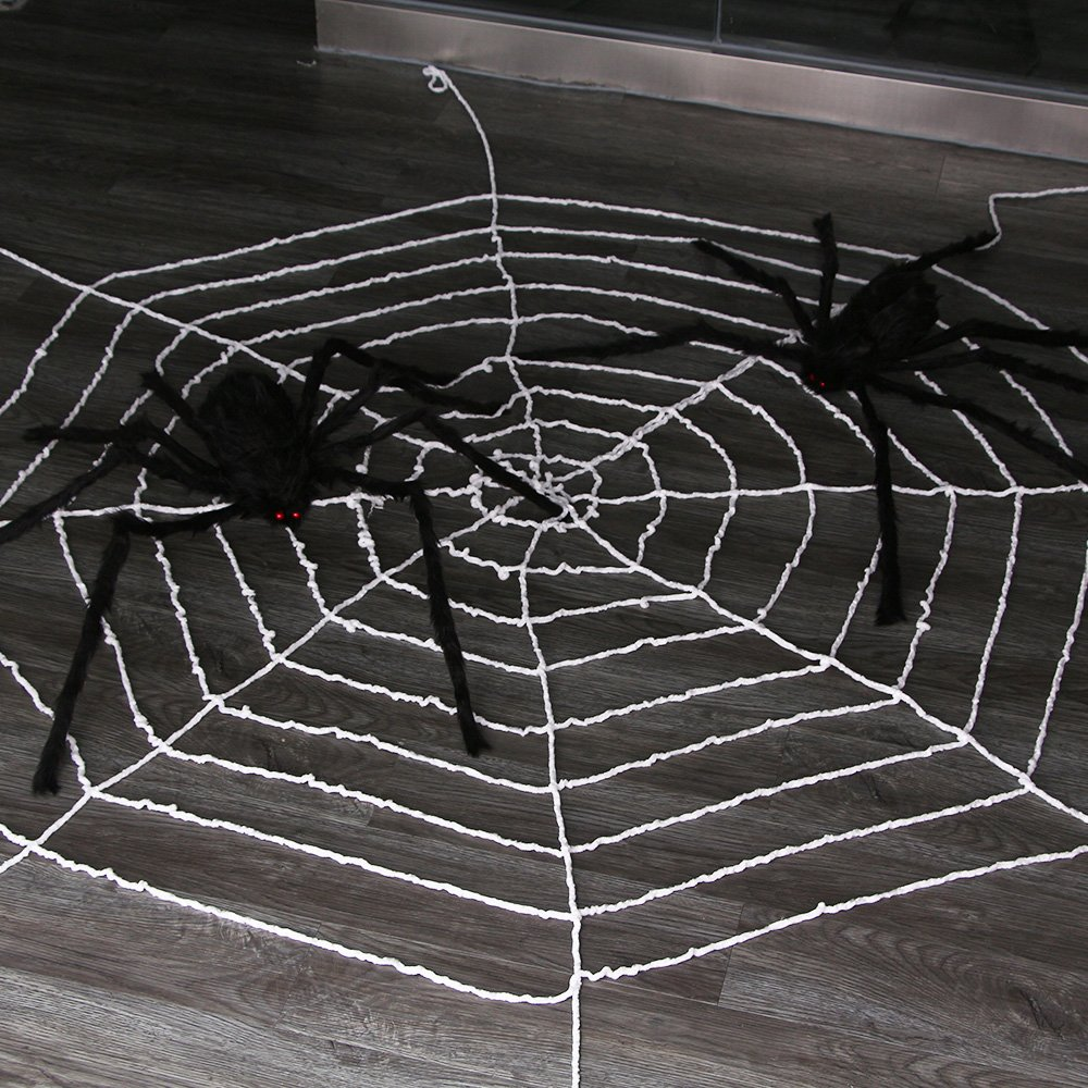 9.85Ft Spiders Webamyhomie Spider Web For Halloweenbest Halloween Decorations 1 12