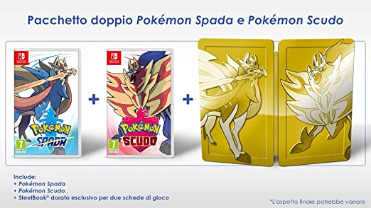 Pokémon Spada e Scudo Dual Pack - Limited - Nintendo Switch [Importación italiana]: Amazon.es: Videojuegos