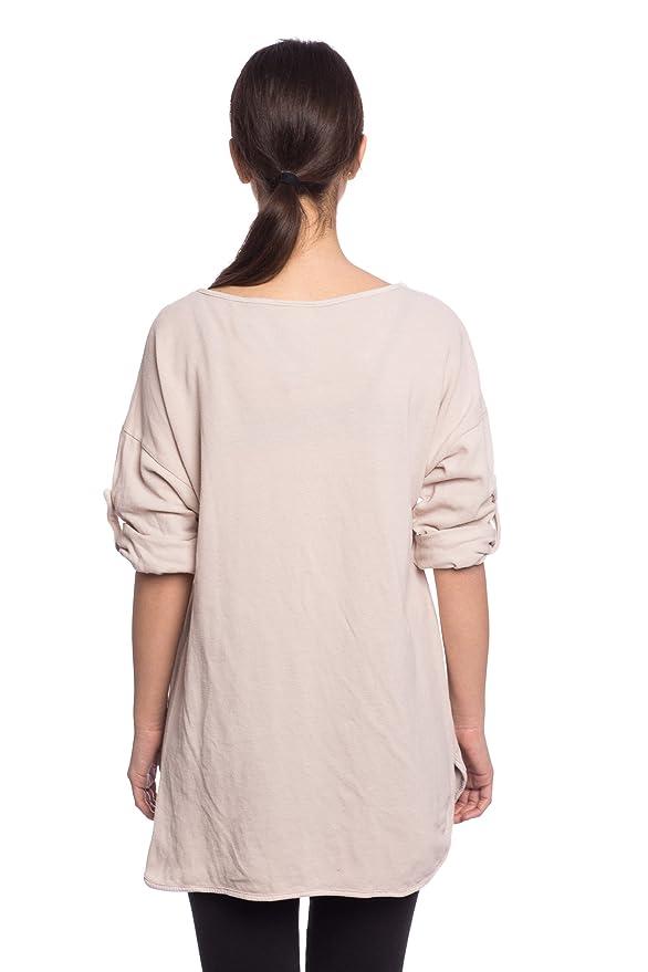 Abbino 7178-18 Camisa Top para Mujer 4 Colores - Transición Primavera Verano Mujer Femenina Elegante Formales Fashion Casual Attraktiv Oficina Fiesta ...