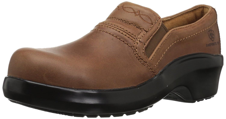 Ariat - Chaussures de Travail décontractées Expert Expert Safety Clog Comp Toe SD Femmes, 38 M EU, marron  en bonne santé
