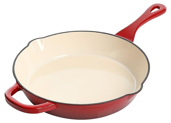 Amazon.com: Crock Pot Artisan Sartén redonda de hierro ...