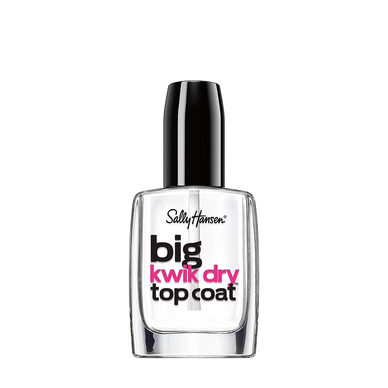 Sally Hansen Big Kwik Dry Top Nail Coat Treatment, 0.4 Fl Oz (Pack of 1) : Beauty