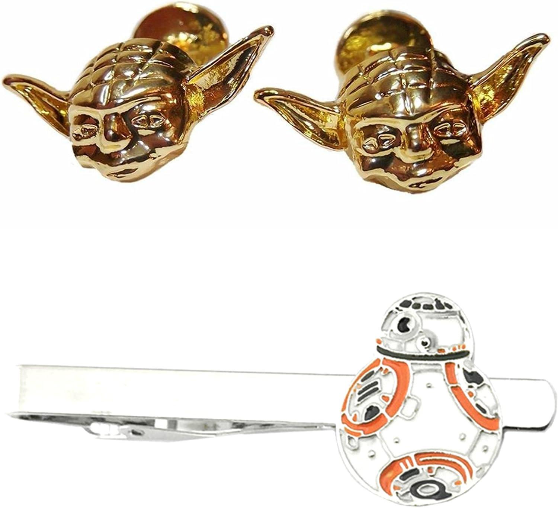 Amazon.com: Yoda Gemelos y BB-8 de oro plana Tiebar – nuevo ...