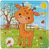 Malloom® Enfants Jouets Puzzle en Bois Pour Puzzles éducation Et D'apprentissage Des Enfants Des Jouets