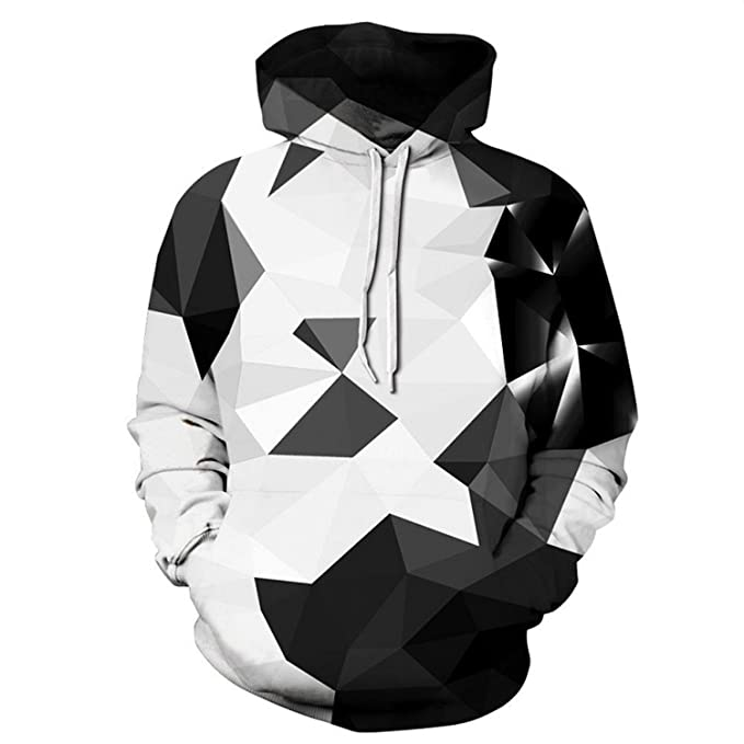48562cb0 MRxcff Fashion 3D Hooded Sweatshirt Colorful Triangle Combination Print  Men/Women Space Pullover Hoodies Sweatshirts