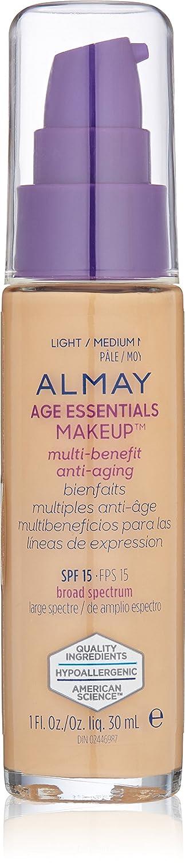 Almay Age Essentials Makeup, Light/Medium Neutral 9307-04