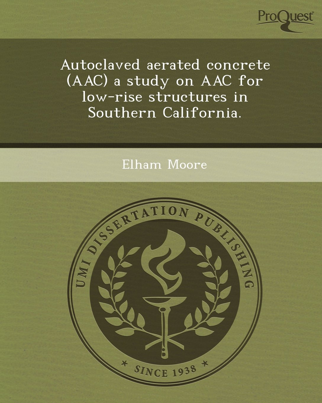 Buy Autoclaved Aerated Concrete (Aac) a Study on Aac for Low