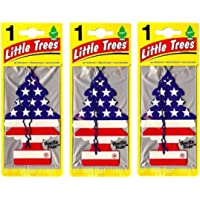 Odorizante e aromatizantes little trees kit com 3 uns