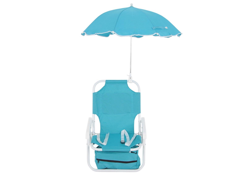 Blu Dajar Sedia a Sdraio con ombrellone Bambini
