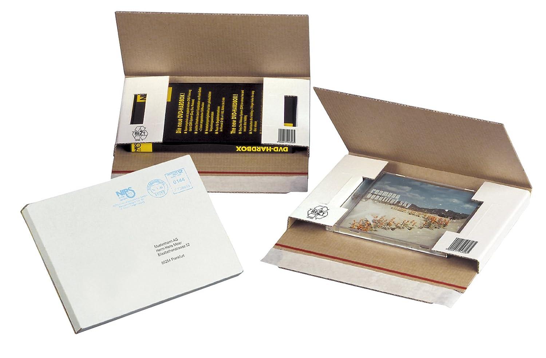 Nips 146180161 - Estuches para envío de CD y DVD, 50 ...