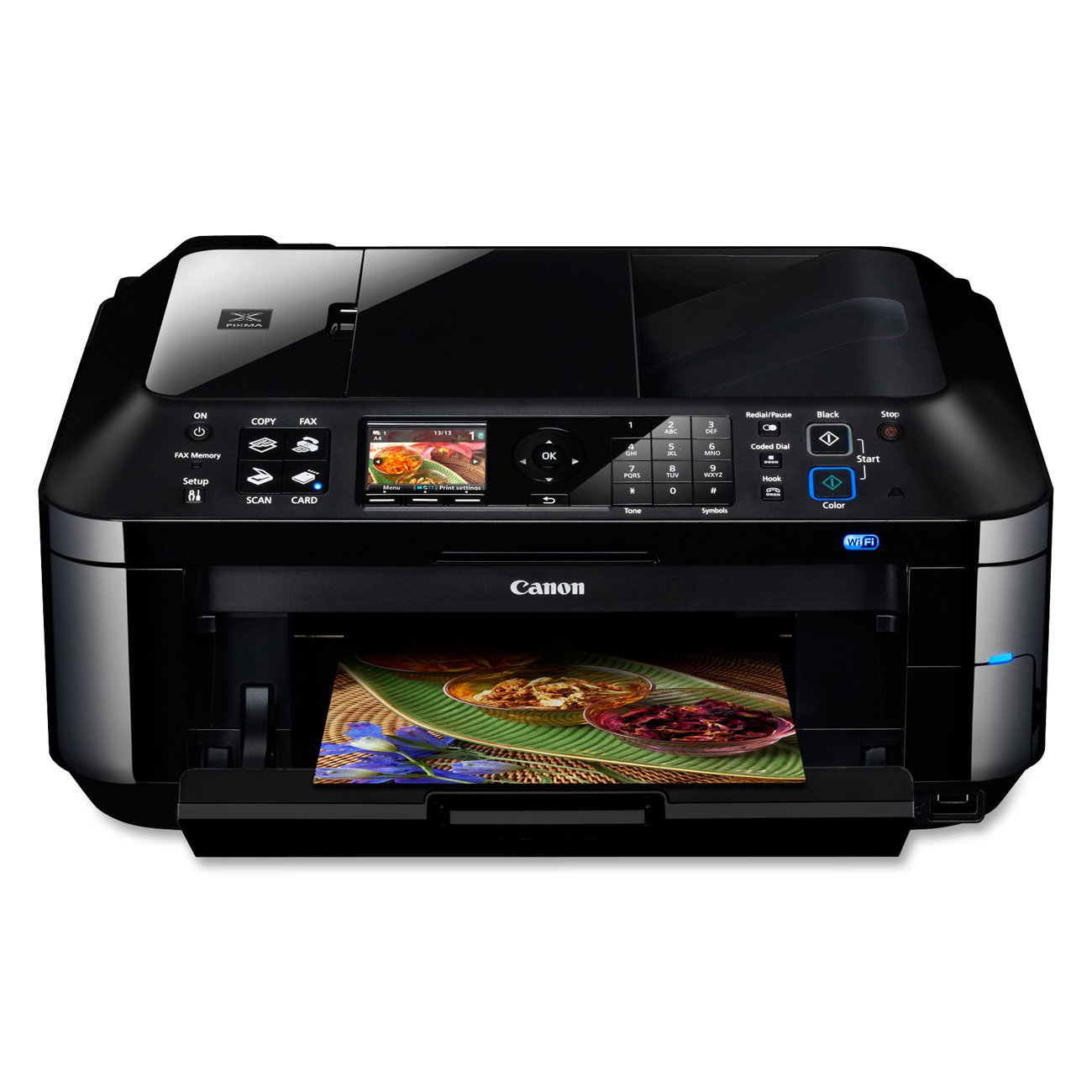 Color printing bu - Amazon Com Canon Pixma Mx420 Wireless Office All In One Printer 4789b018 Office Products