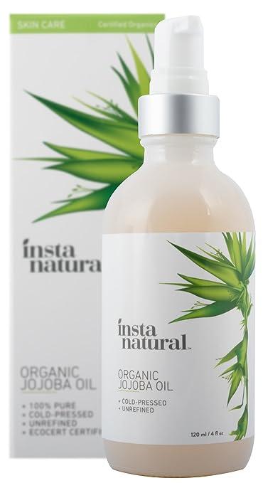 54 opinioni per InstaNatural Olio di Jojoba – 100% Puro & Biologico Certificato – Idratante