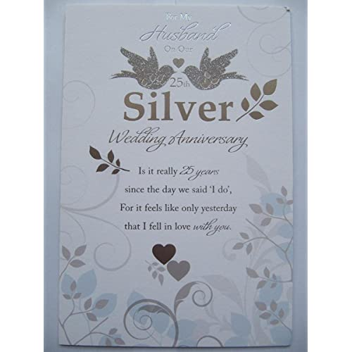 25th Anniversary Ideas For Husband: Silver Anniversary Gifts For Husband: Amazon.co.uk