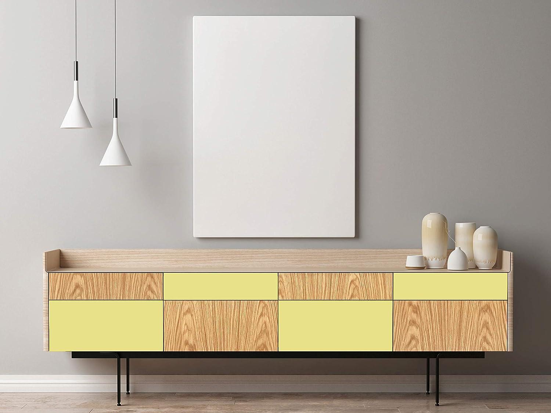 Venilia Klebefolie Unimatt Gelb 45 cm x 200 cm Adhesiva Uni Matt ...