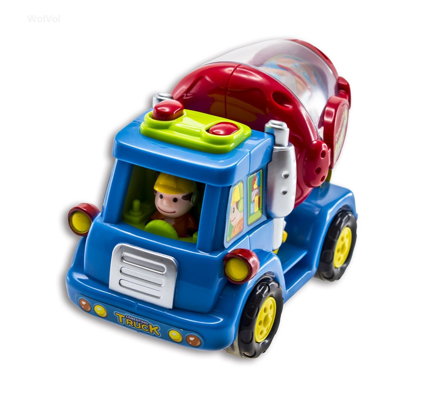 Amazon Advanced Play Push and Go Friction Power Car Toys