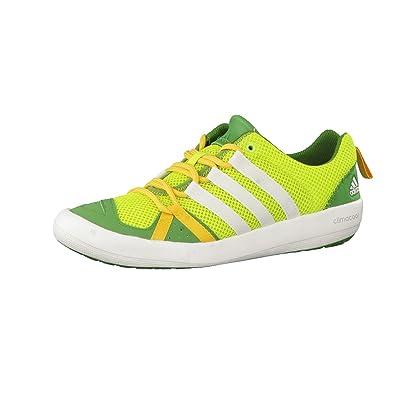 new arrival e2652 5294f adidas Climacool Boat Lace, Chaussures de Sport Mixte Adulte,  Multicolore-Verde Blanco