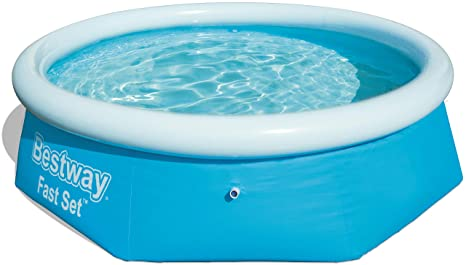 Bestway Fast Set Piscina Desmontable Autoportante, 244 x 66 cm