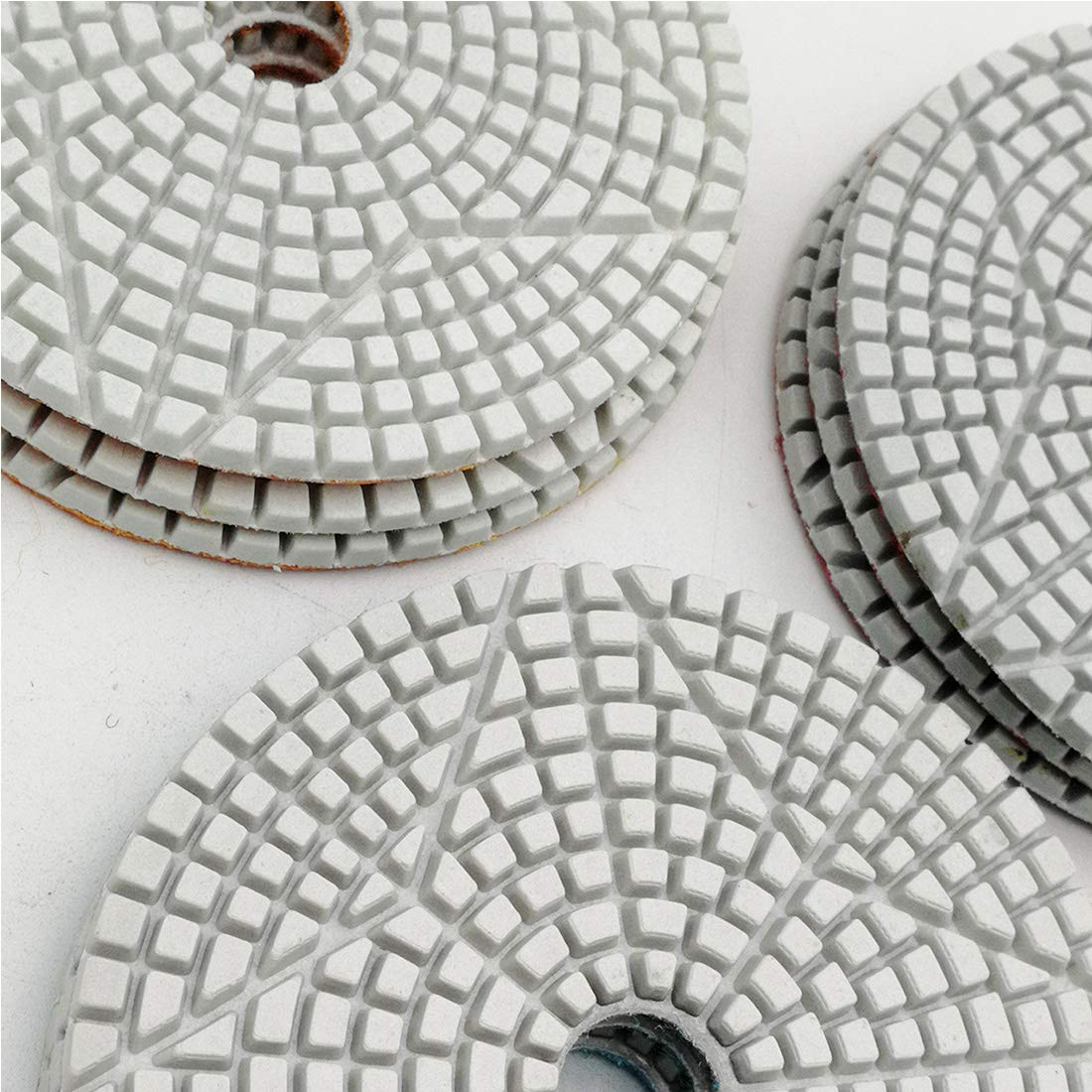 DT-DIATOOL 3-Steps Diamond Polishing Pads 4 Inch for Stone Marble