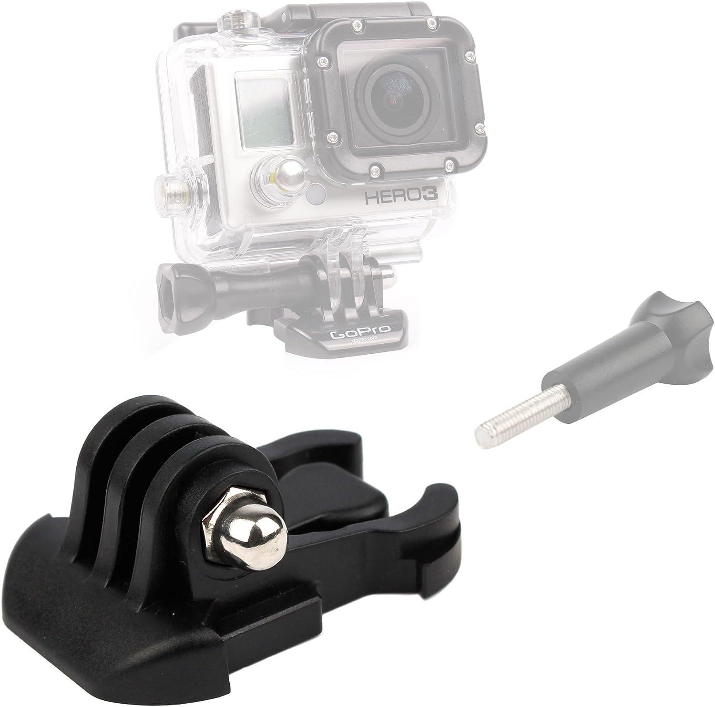 Duragadget Acción Cámara Accesorios Bundle compatible con GoPro HD Helmet Hero