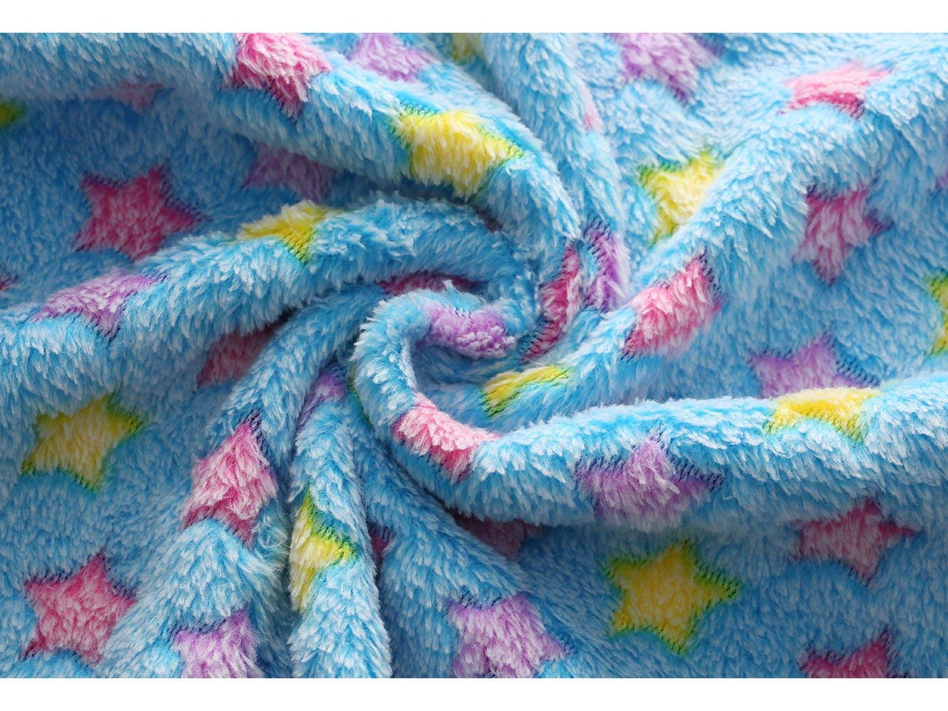 luciphia 1 Pack 3 Blankets Super Soft Fluffy Premium Fleece Pet Blanket Flannel Throw for Dog Puppy Cat Star Small by luciphia (Image #7)