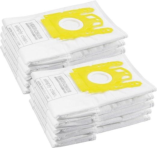 Kärcher - Bolsas para aspiradora (2 paquetes de 5 unidades): Amazon.es: Hogar